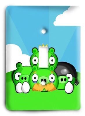 Angry Birds 03 Light Switch Cover - Colorful Switches