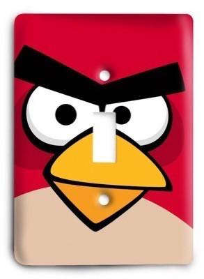 Angry Birds 10 Light Switch Cover - Colorful Switches