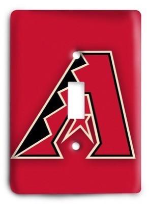 Arizona Diamondbacks 3 Light Switch Cover - Colorful Switches