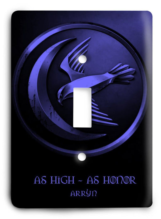 Arryn Game Of Thrones G5v26 Light Switch Cover - Colorful Switches