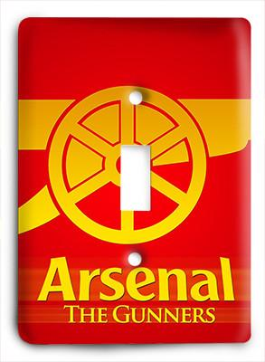 Arsenal Fc The Gunners Light Switch - Colorful Switches