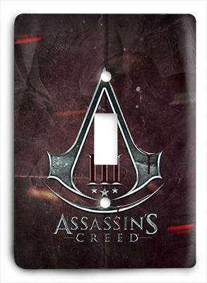 Assassin's Creed Avenged Light Switch - Colorful Switches