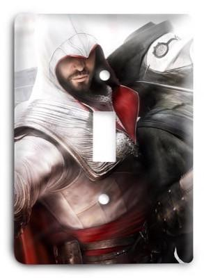 Assassins Creed 2 Light Switch Cover - Colorful Switches