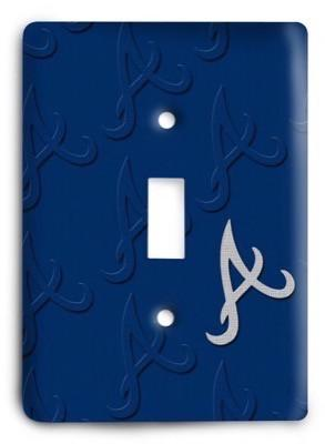 Atlanta Braves MLB 11 Light Switch Cover - Colorful Switches