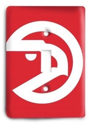 Atlanta Hawks 07 Light Switch Cover - Colorful Switches