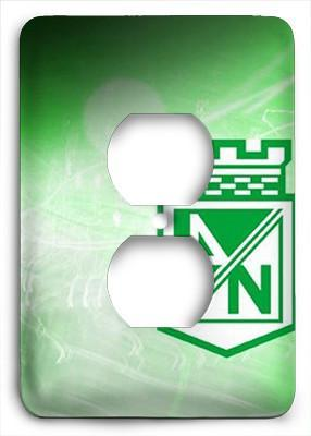 Atletico Nacional Outlet Cover - Colorful Switches