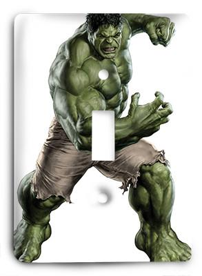 Avenging Hulk G814 Light Switch - Colorful Switches