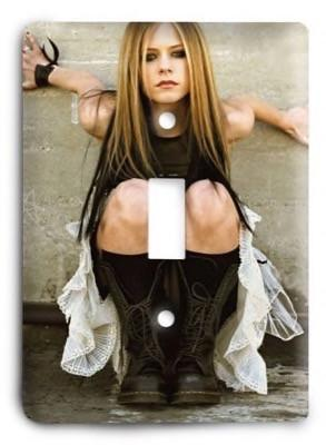 Avril Lavigne Light Switch Cover - Colorful Switches