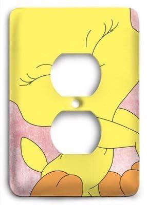 Baby Looney Toons 17 Outlet Cover - Colorful Switches