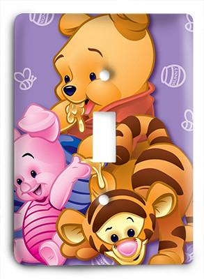 Baby Pooh and Playmates Too Light Switch - Colorful Switches