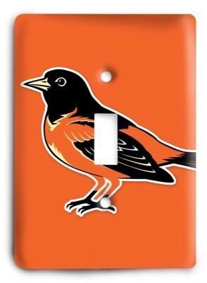 Baltimore Orioles 08 Light Switch Cover - Colorful Switches