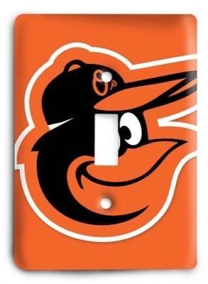 Baltimore Orioles 09 Light Switch Cover - Colorful Switches