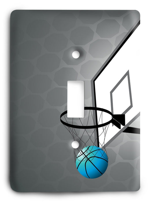 Basket Ball Dreams Light Switch Cover - Colorful Switches