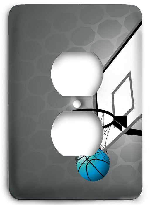 Basket Ball Dreams Outlet Cover - Colorful Switches
