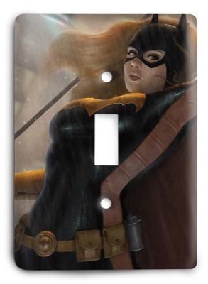 Batgirl Batman Marvel Comics G3 3 Light Switch Cover - Colorful Switches
