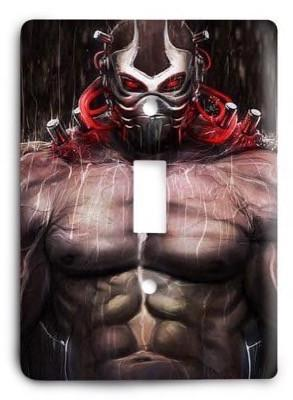 Batman Bane v5 Light Switch Cover - Colorful Switches