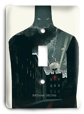 Batman Begins G1 Light Switch - Colorful Switches