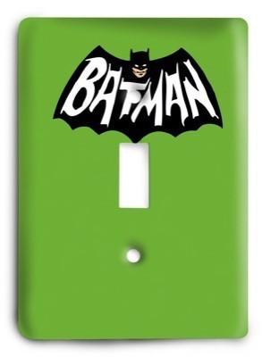 Batman DC Comics G3 v2 43 Light Switch Cover - Colorful Switches