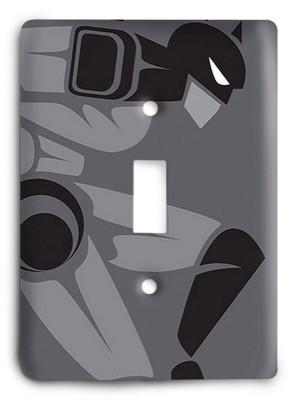 Batman DC Comics G3 v2 80 Light Switch Cover - Colorful Switches