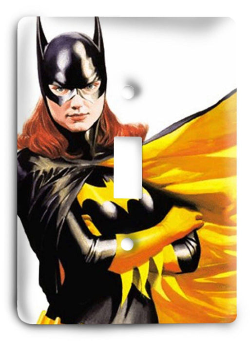 Batman Dark Hero v15 Light Switch Cover - Colorful Switches