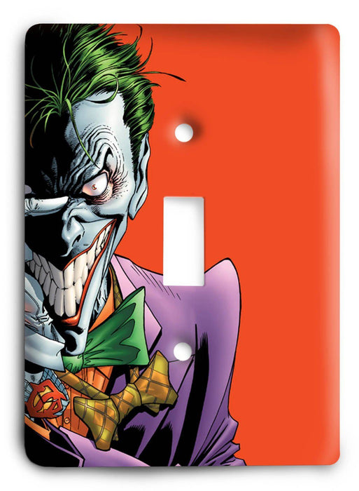 Batman Dark Hero v20 Light Switch Cover - Colorful Switches