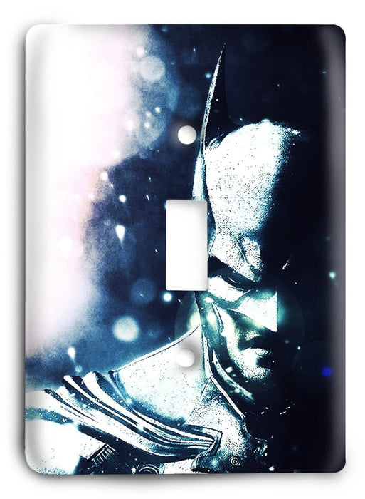 Batman Dark Hero v33 Light Switch Cover - Colorful Switches