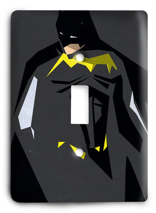 Batman Dark Hero v39 Light Switch Cover - Colorful Switches