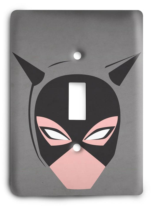 Batman Dark Hero v45 Light Switch Cover - Colorful Switches