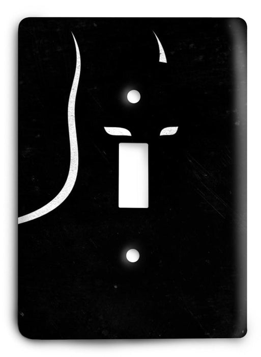 Batman Dark Hero v47 Light Switch Cover - Colorful Switches