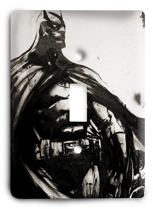 Batman Dark Hero v50 Light Switch Cover - Colorful Switches
