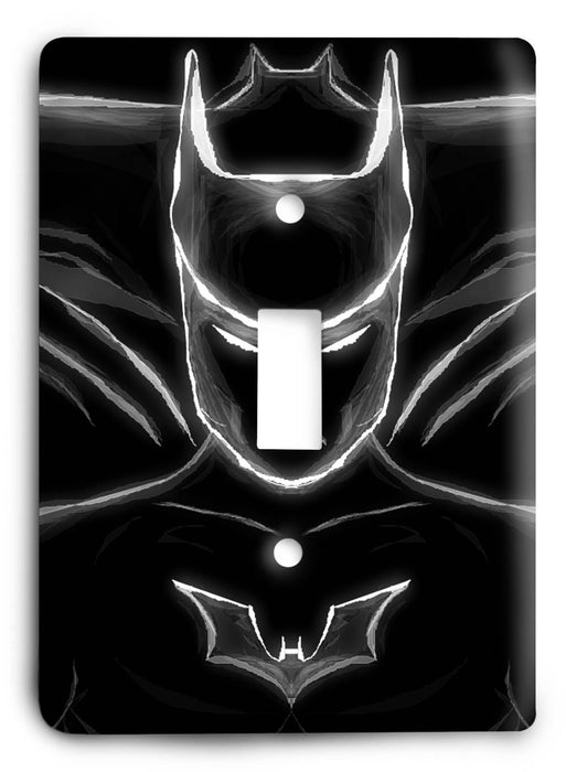 Batman Dark Hero v53 Light Switch Cover - Colorful Switches