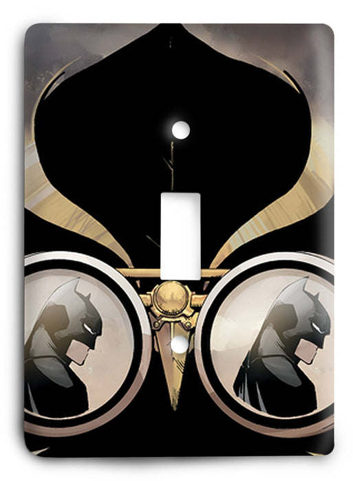 Batman Dark Hero v64 Light Switch Cover - Colorful Switches