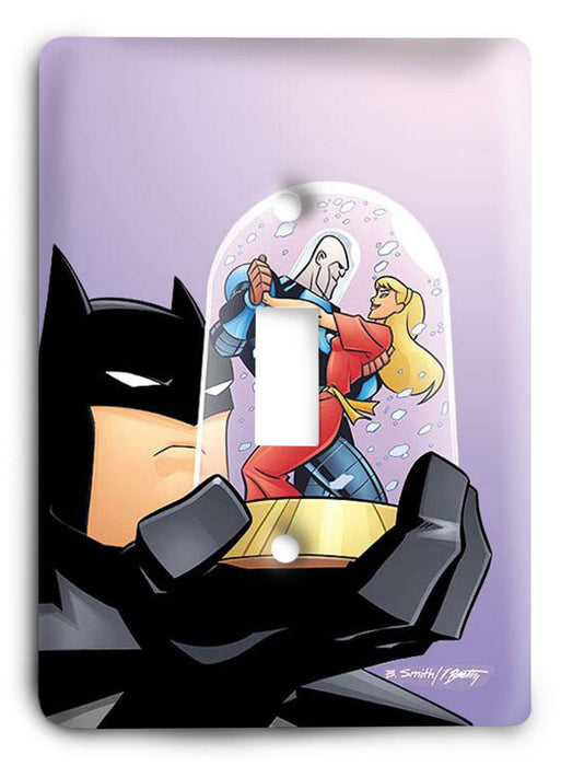 Batman Dark Hero v9 Light Switch Cover - Colorful Switches