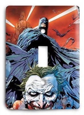 Batman Joker Marvel Comics G3 Light Switch Cover - Colorful Switches