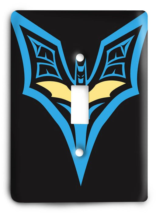 Batman Knight Rise v16 Light Switch Cover - Colorful Switches