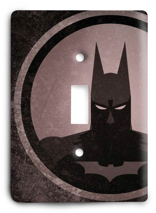 Batman Knight Rise v20 Light Switch Cover - Colorful Switches