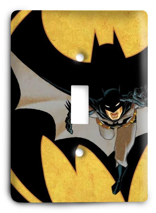 Batman Knight Rise v26 Light Switch Cover - Colorful Switches