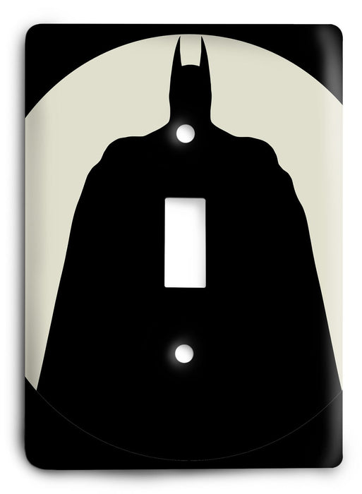 Batman Knight Rise v54 Light Switch Cover - Colorful Switches