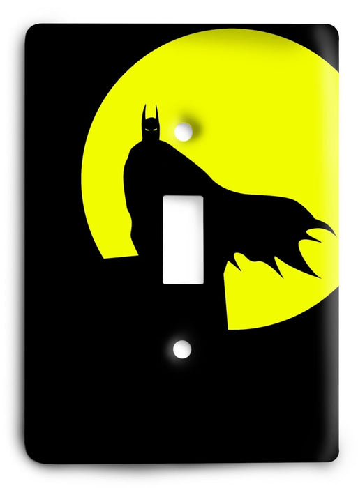Batman Knight Rise v59 Light Switch Cover - Colorful Switches
