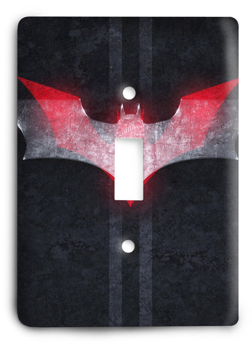 Batman Knight Rise v60 Light Switch Cover - Colorful Switches