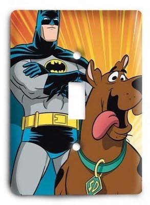 Batman Meets Scobbie Doo Light Switch Cover - Colorful Switches