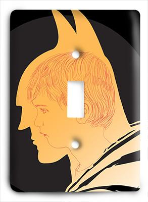Batman The Boy Light Switch - Colorful Switches