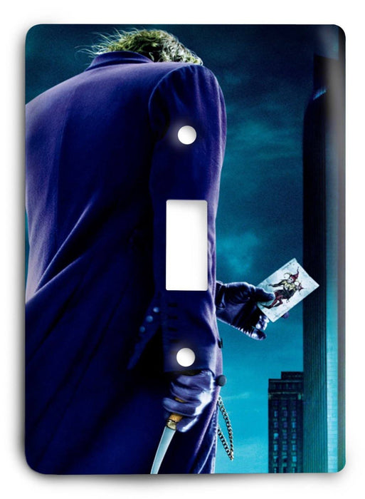 Batman The Dark Knight Rises G5v7 Light Switch Cover - Colorful Switches