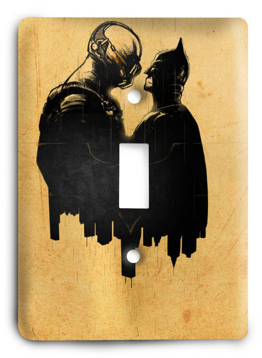Batman The Dark Knight Rises G5v9 Light Switch Cover - Colorful Switches