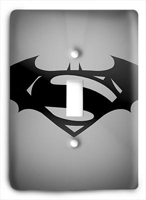 Batman vs Superman Light Switch - Colorful Switches