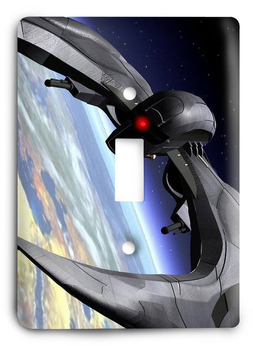 Battlestar Galactica v12 Light Switch Cover - Colorful Switches
