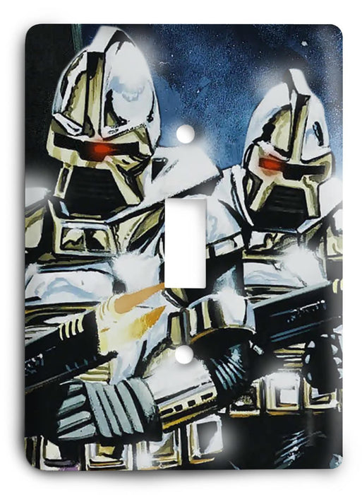 Battlestar Galactica v27 Light Switch Cover - Colorful Switches