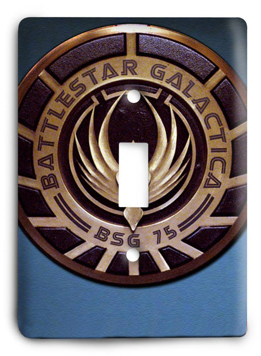 Battlestar Galactica v5 Light Switch Cover - Colorful Switches