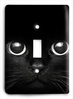 Black Cat Eyes Light Switch - Colorful Switches