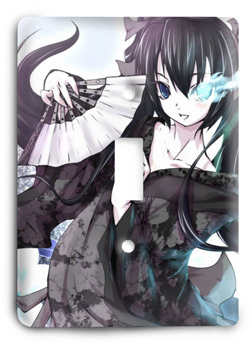 Black Rock Shooter G5v5 Light Switch Cover - Colorful Switches